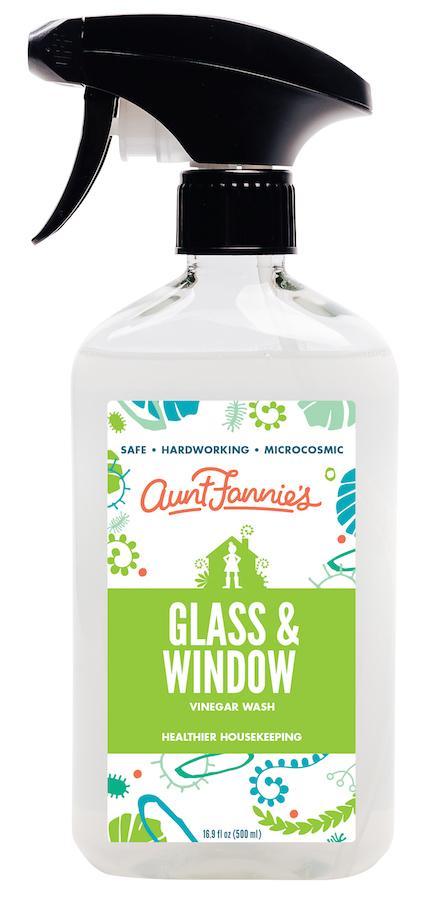 Glass & Window Vinegar Wash