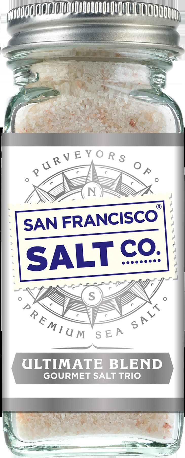 Ultimate Blend Gourmet Salt Trio