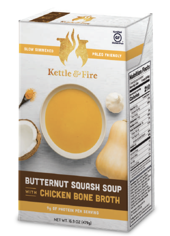 Butternut Squash Soup With Chicken Bone Broth