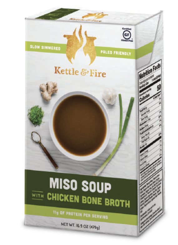 Miso Soup With Bone Broth