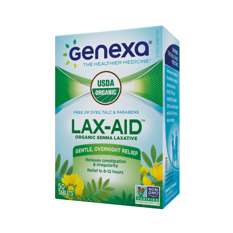 Lax-aid Gentle, Overnight Relief