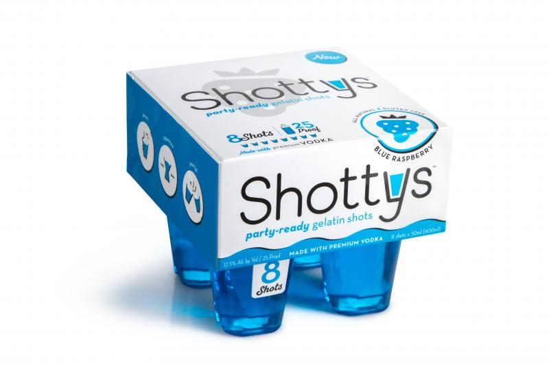 Party-ready Gelatin Shots, Blue Raspberry