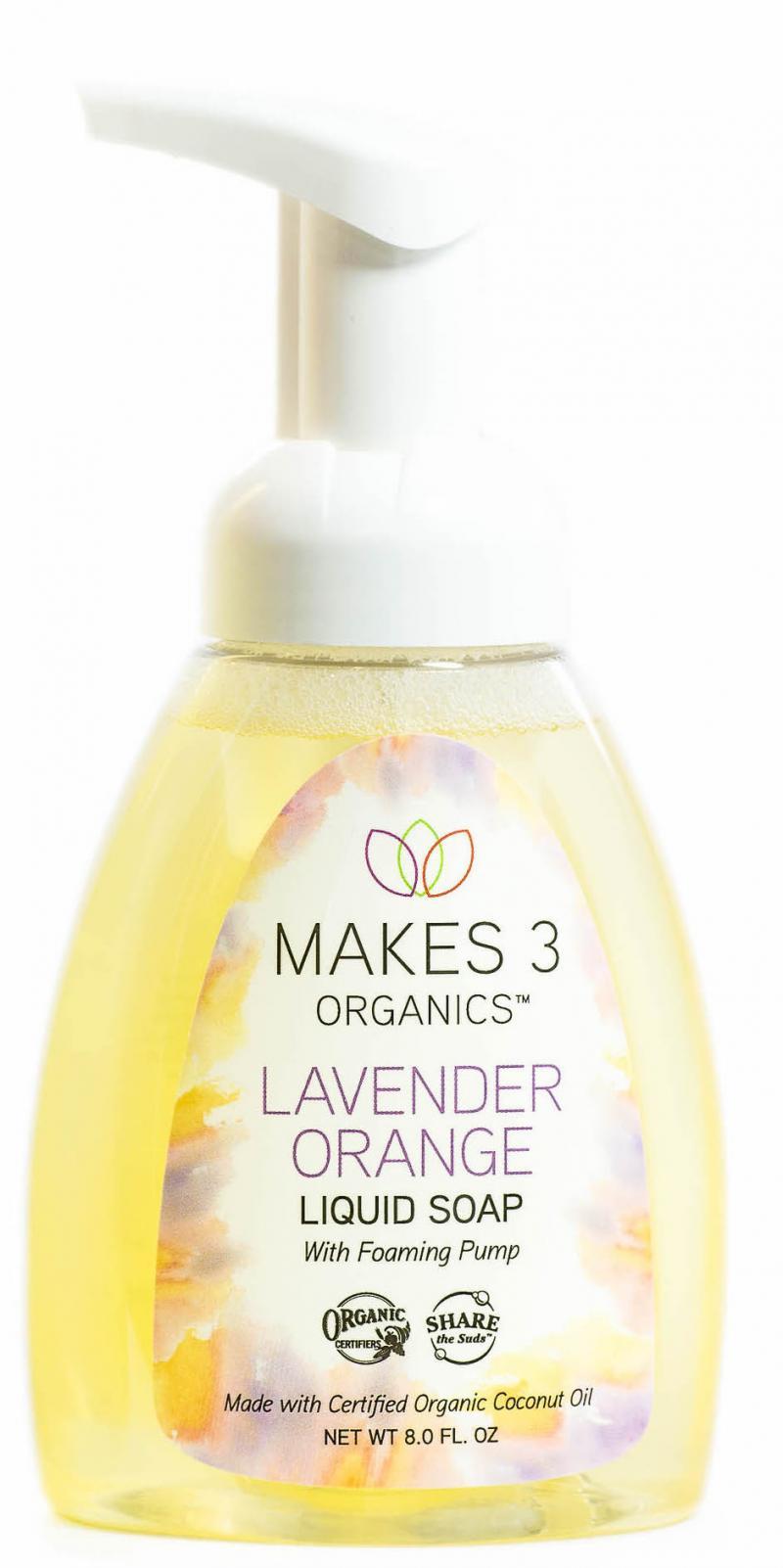 Liquid Soap, Lavender Orange