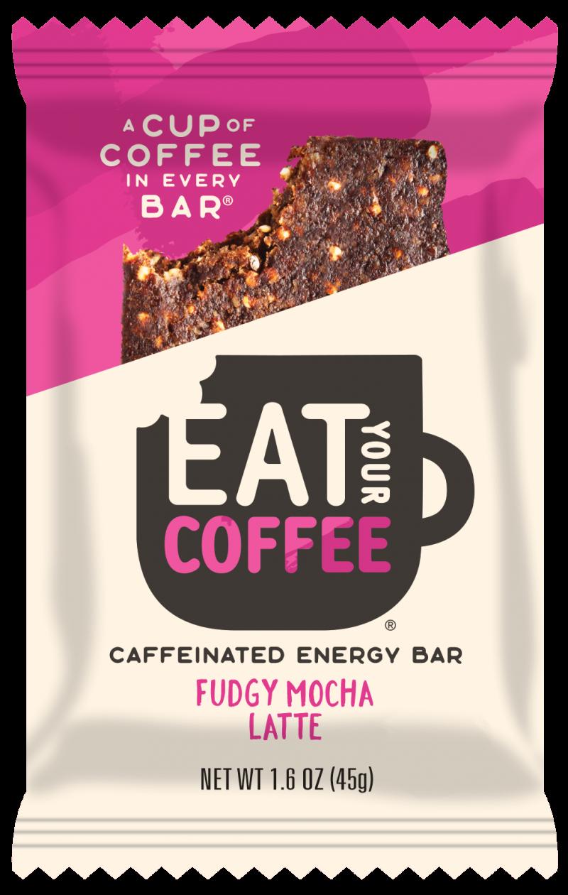 Fudgy Mocha Latte - Caffeinated Energy Bar