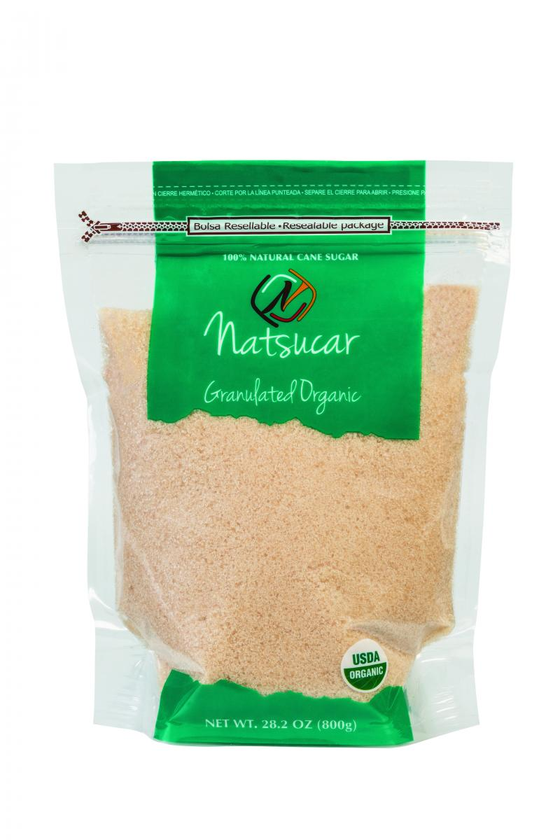 100% Natural Cane Sugar
