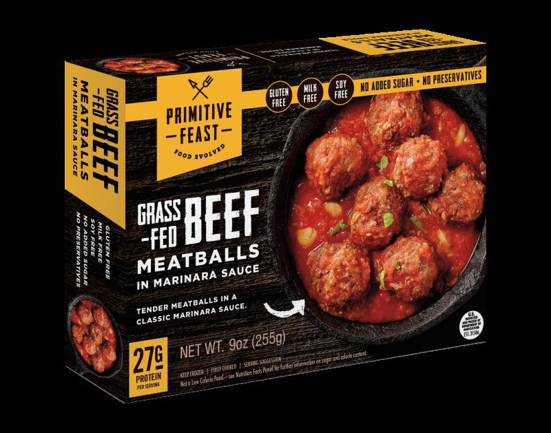 Grass-fed Beef Meatballs In Marinara Sauce