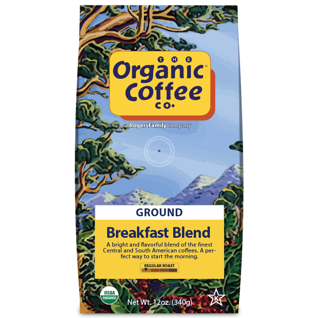 Breakfast Blend Coffee - Organic