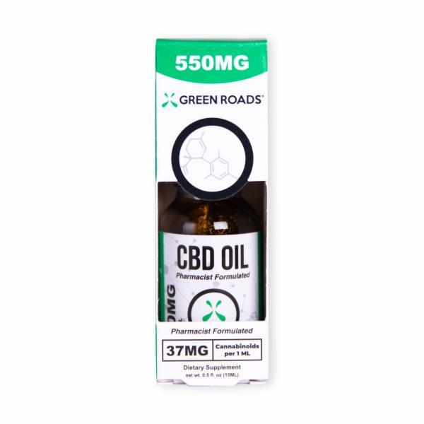 CBD OIL 550 MG DIETARY SUPPLEMENT