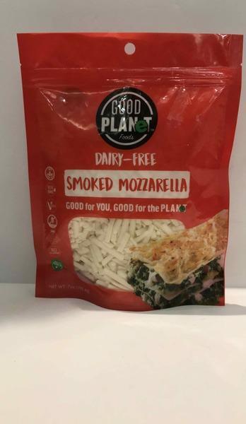 SMOKED MOZZARELLA DAIRY-FREE CHEESE