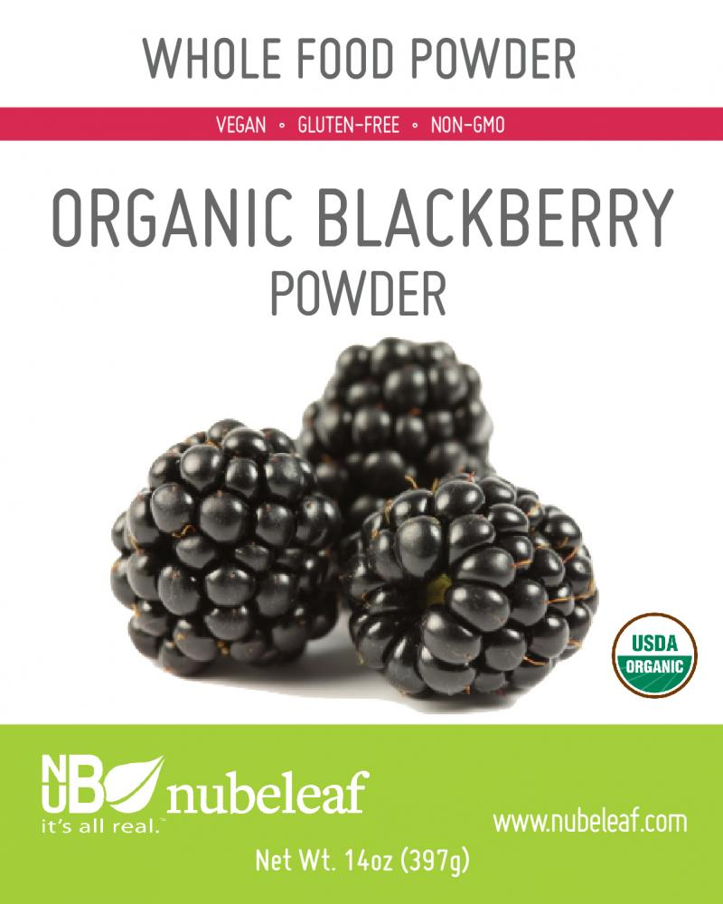 ORGANIC BLACKBERRY WHOLE FOOD POWDER