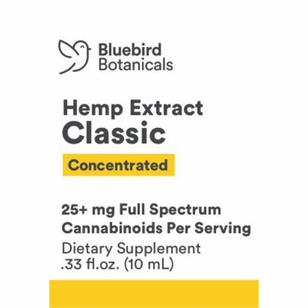 CONCENTRATED HEMP EXTRACT CLASSIC DIETARY SUPPLEMENT