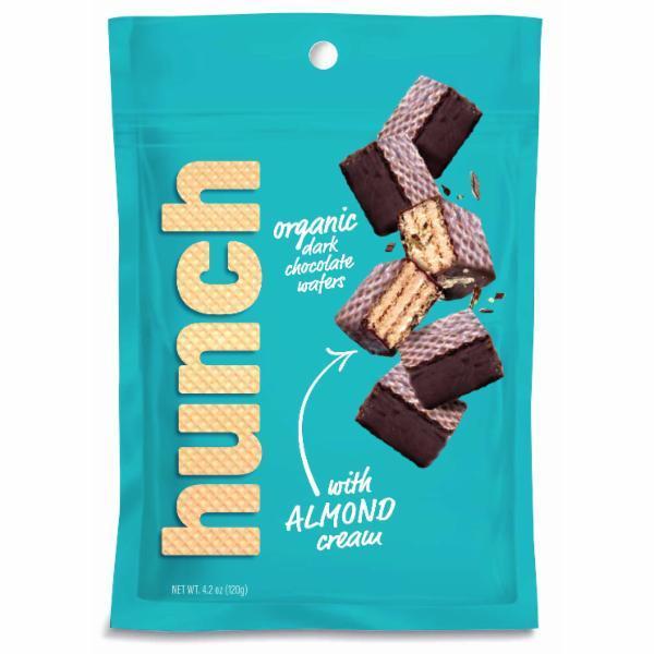 ORGANIC DARK CHOCOLATE WAFERS WITH ALMOND CREAM