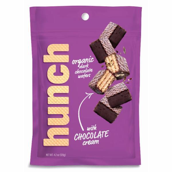 ORGANIC DARK CHOCOLATE WAFERS WITH CHOCOLATE CREAM