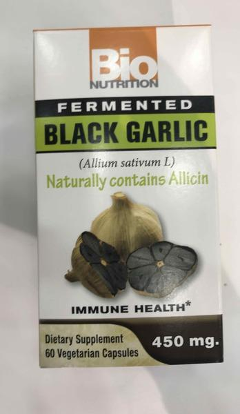 BLACK GARLIC FERMENTED IMMUNE HEALTH DIETARY SUPPLEMENT VEGETARIAN CAPSULES