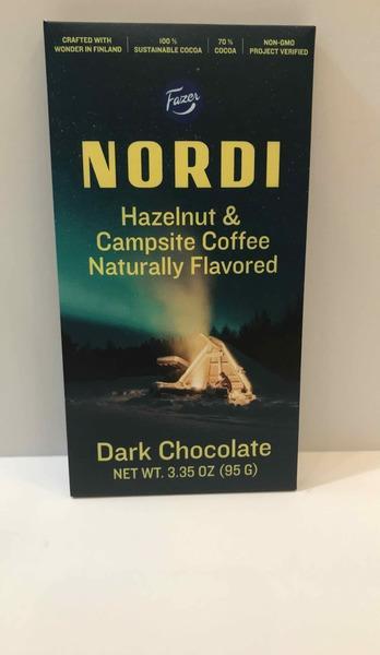 DARK CHOCOLATE HAZELNUT & CAMPSITE COFFEE