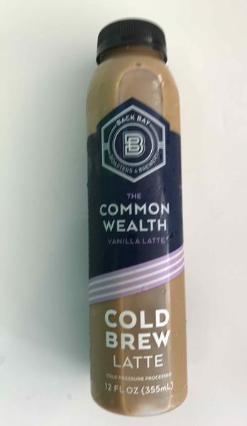 THE COMMON WEALTH VANILLA LATTE COLD BREW LATTE