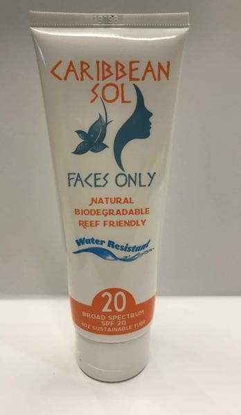 BROAD SPECTRUM SPF 20 WATER RESISTANT FAKES ONLY FACE SOLUTION