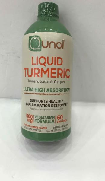 TROPICAL ORANGE FLAVOR LIQUID TURMERIC CURCUMIN COMPLEX DIETARY SUPPLEMENT