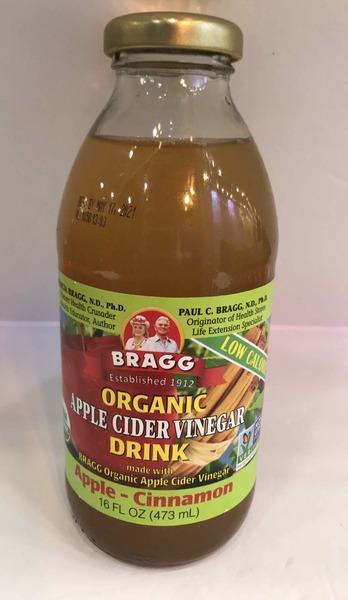 ORGANIC APPLE - CINNAMON CIDER VINEGAR DRINK