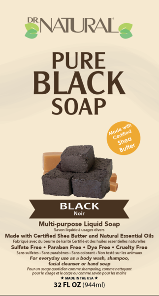 MULTI-PURPOSE PURE BLACK LIQUID SOAP