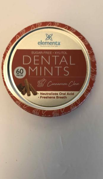DENTAL MINTS, CINNAMON CLOVE