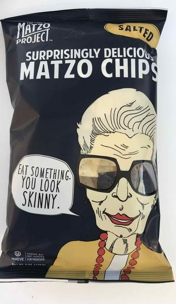 SALTED SURPRISINGLY DELICIOUS MATZO CHIPS