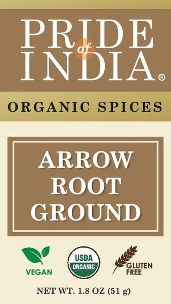 ARROW ROOT GROUND ORGANIC SPICES