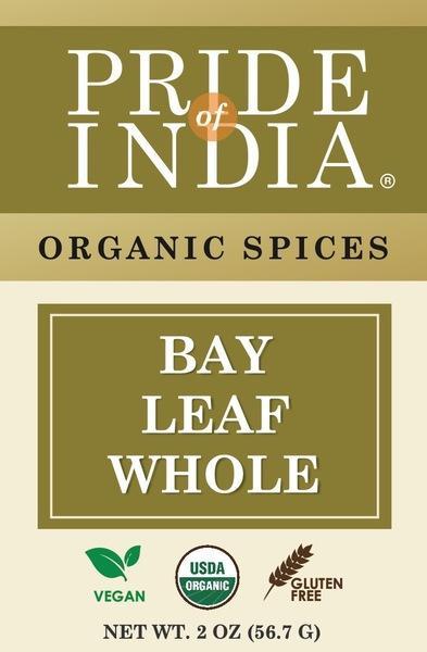 BAY LEAF WHOLE ORGANIC SPICES