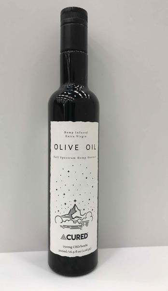 HEMP INFUSED EXTRA VIRGIN OLIVE OIL