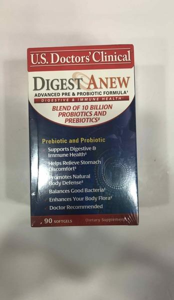 DIGEST A NEW ADVANCED PRE & PROBIOTIC FORMULA SUPPORTS DIGESTIVE & IMMUNE HEALTH DIETARY SUPPLEMENT SOFTGELS