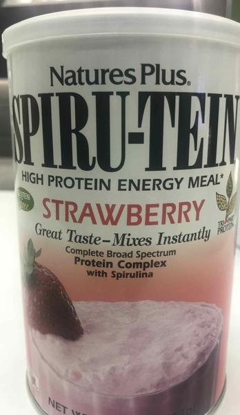 STRAWBERRY COMPLETE BROAD SPECTRUM SPIRU-TEIN HIGH PROTEIN ENERGY MEAL