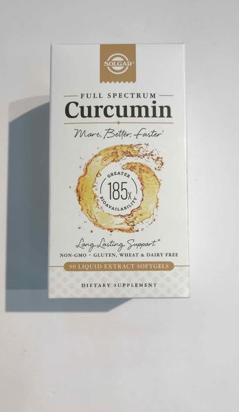 FULL SPECTRUM CUCUMIN DIETARY SUPPLEMENT LIQUID EXTRACT SOFGELS