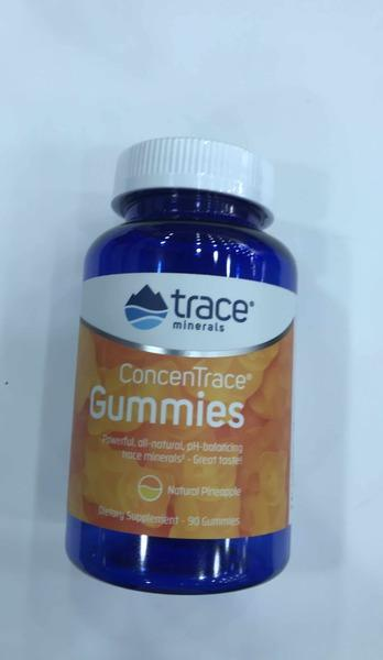 CONCENTRACE DIETARY SUPPLEMENT GUMMIES NATURAL PINEAPPLE