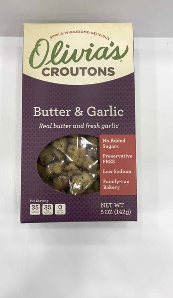 BUTTER & GARLIC CROUTONS