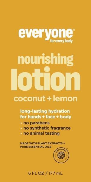 NOURISHING LOTION, COCONUT + LEMON
