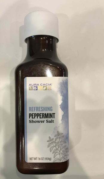 REFRESHING SHOWER SALT, PEPPERMINT