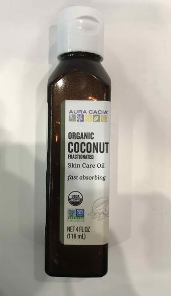 ORGANIC COCONUT FRACTIONATED SKIN CARE OIL