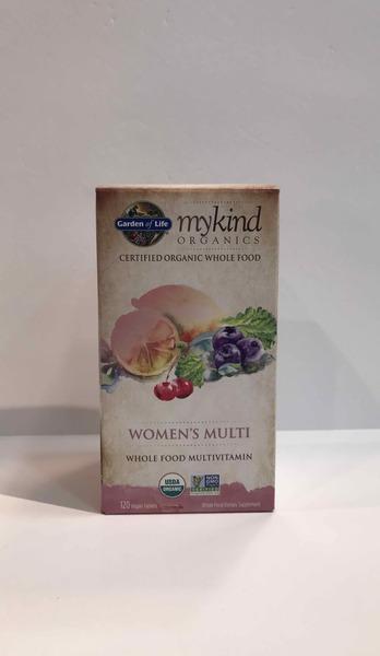 MYKIND ORGANICS WOMEN'S MULTI WHOLE FOOD MULTIVITAMIN DIETARY SUPPLEMENT VEGAN TABLETS