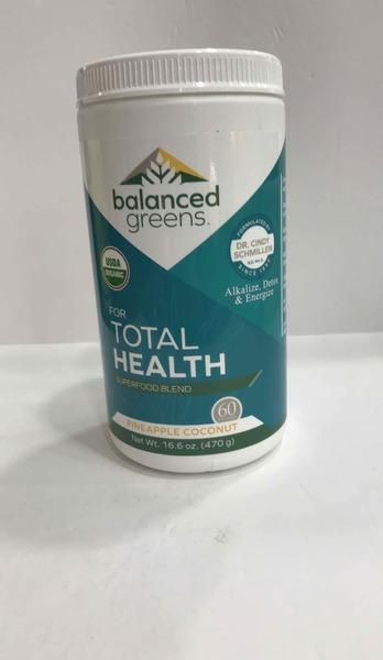 PINEAPPLE COCONUT TOTAL HEALTH SUPERFOOD BLEND