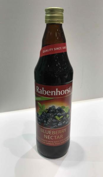 ORGANIC BLUEBERRY NECTAR FROM PURE JUICE