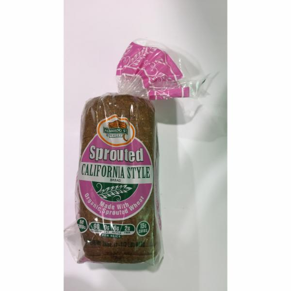 SPROUTED CALIFORNIA STYLE BREAD