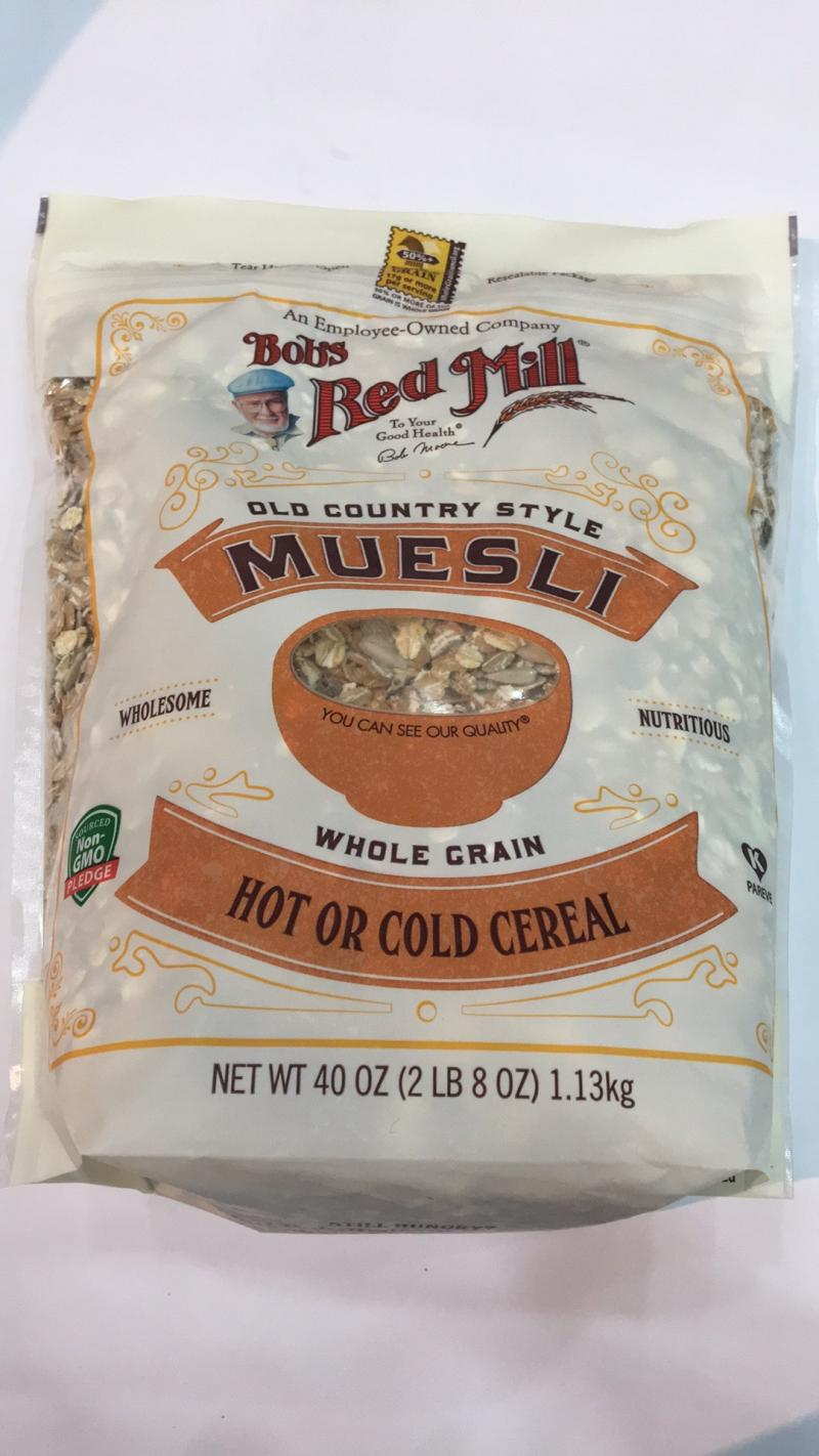 Muesli Whole Grain Hot Or Cold Cereal