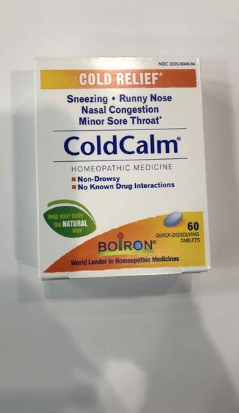 COLD CALM HOMEOPATHIC MEDICINE COLD RELIEF QUICK-DISSOLVING TABLETS
