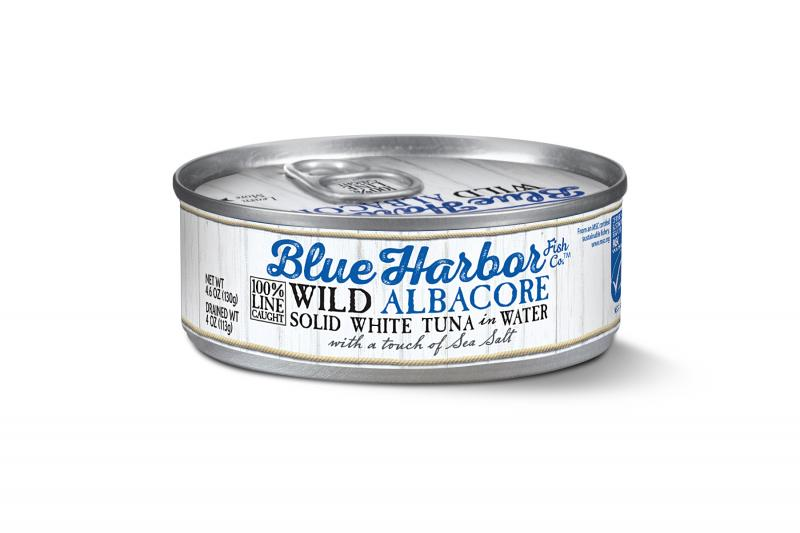 Wild Albacore Solid White Tuna In Water With A Touch Of Sea Salt