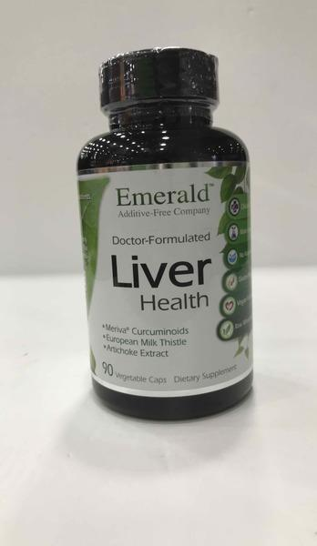 DOCTOR-FORMULATED LIVER HEALTH DIETARY SUPPLEMENT VEGETABLE CAPS