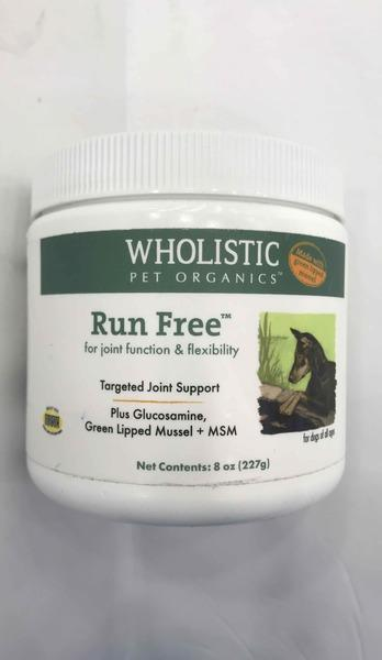 RUN FREE FOR JOINT FUNCTION & FLEXIBILITY FOR DOGS OF ALL AGES