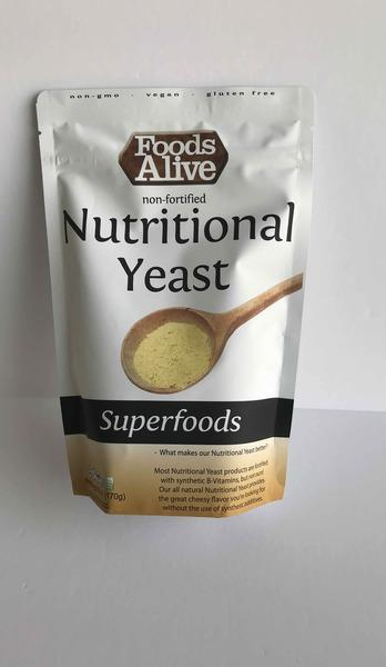 NON-FORTIFIED NUTRITIONAL YEAST SUPERFOOD