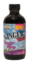 GINGER WOW!! COUGH SYRUP DIETARY SUPPLEMENT