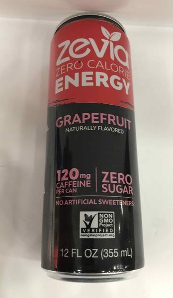 GRAPEFRUIT ZERO CALORIE ENERGY DRINK