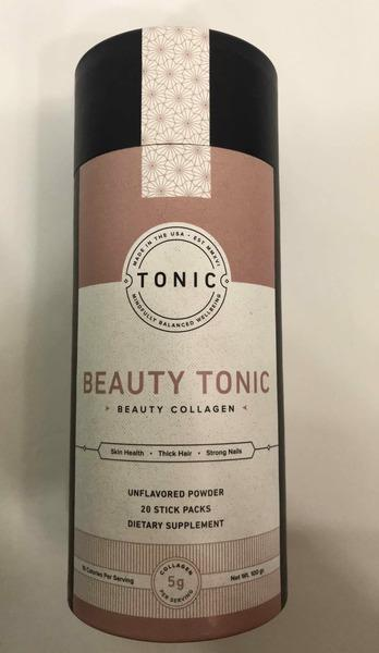 UNFLAVORED POWDER BEAUTY TONIC DIETARY SUPPLEMENT STICK PACKS